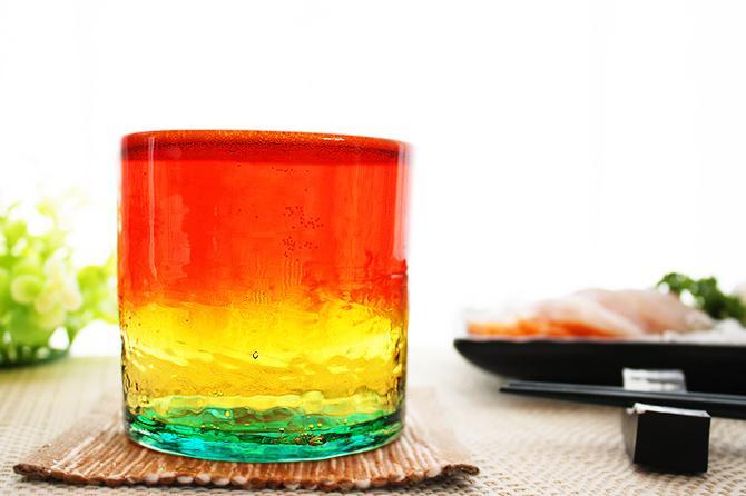 琉球ガラスのビアグラス