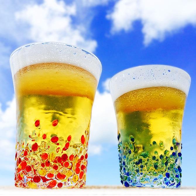 琉球沖縄限定グラスの引き出物